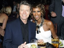 David Bowie and Iman, 2009